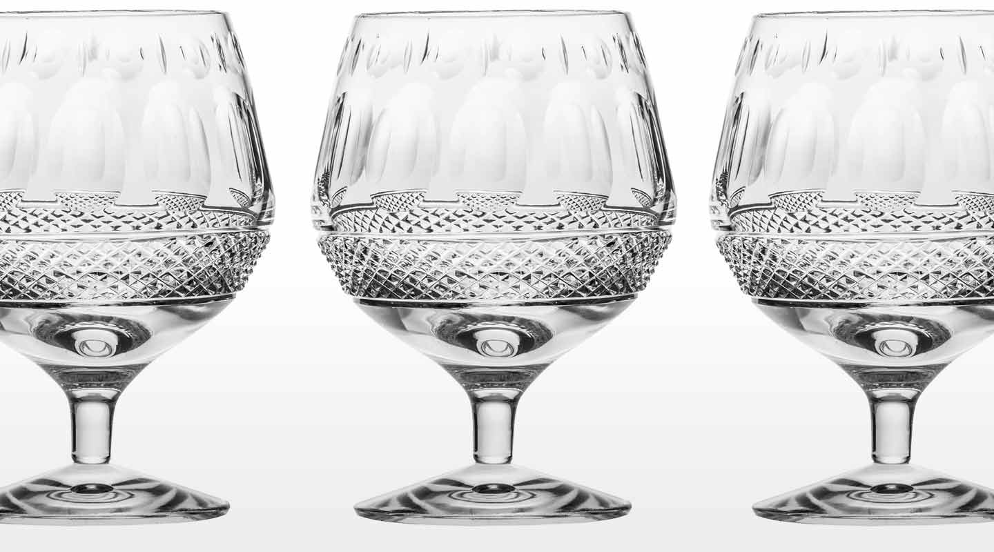 Fine Crystal Brandy Balloons and Glasses