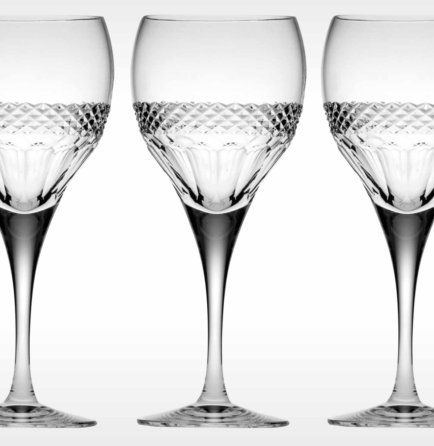 Fine Crystal Red Wine Glasses