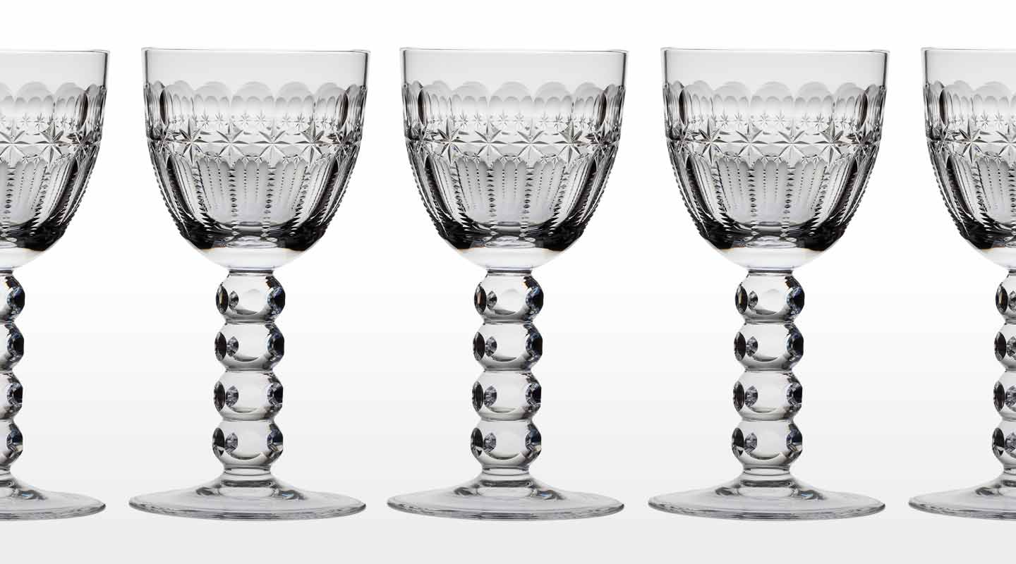 Fine Crystal Sherry and Port Glasses