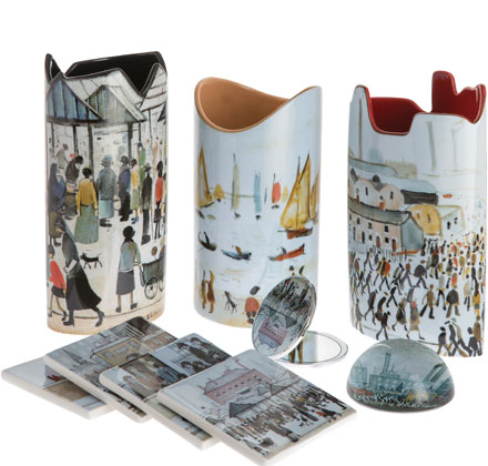 Vases, coasters and giftware in Monet, Van Gogh, Lowry, Picasso and Charles Rennie Mackintosh designs
