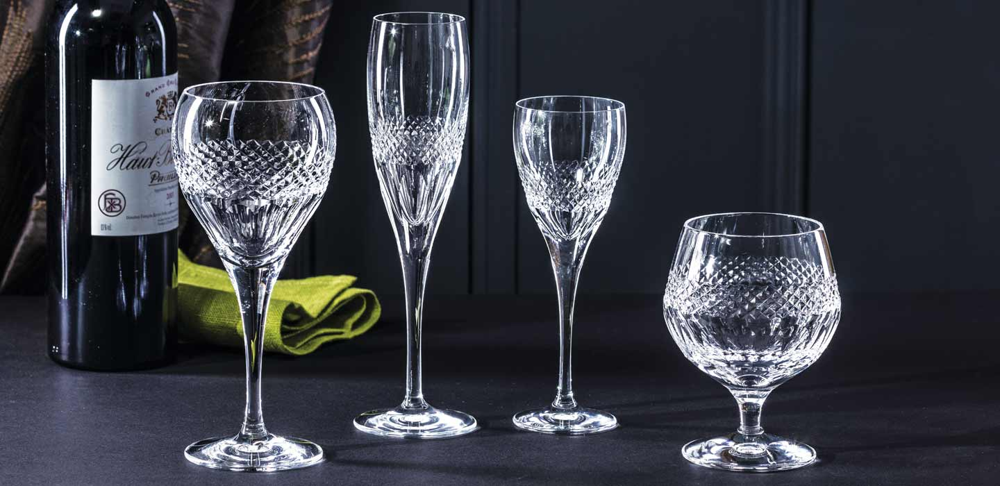 Decanters, Stemware, Vases, Bowls and more