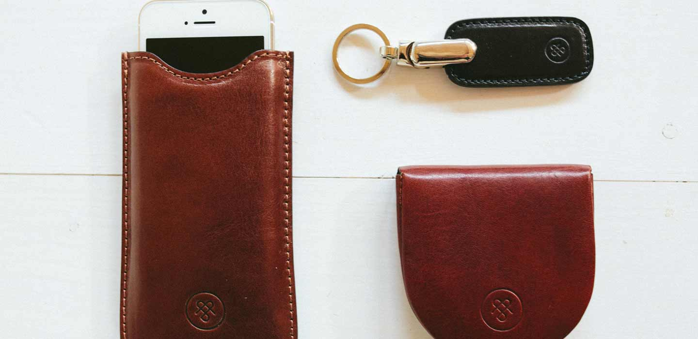 Leather Key fobs, wallets